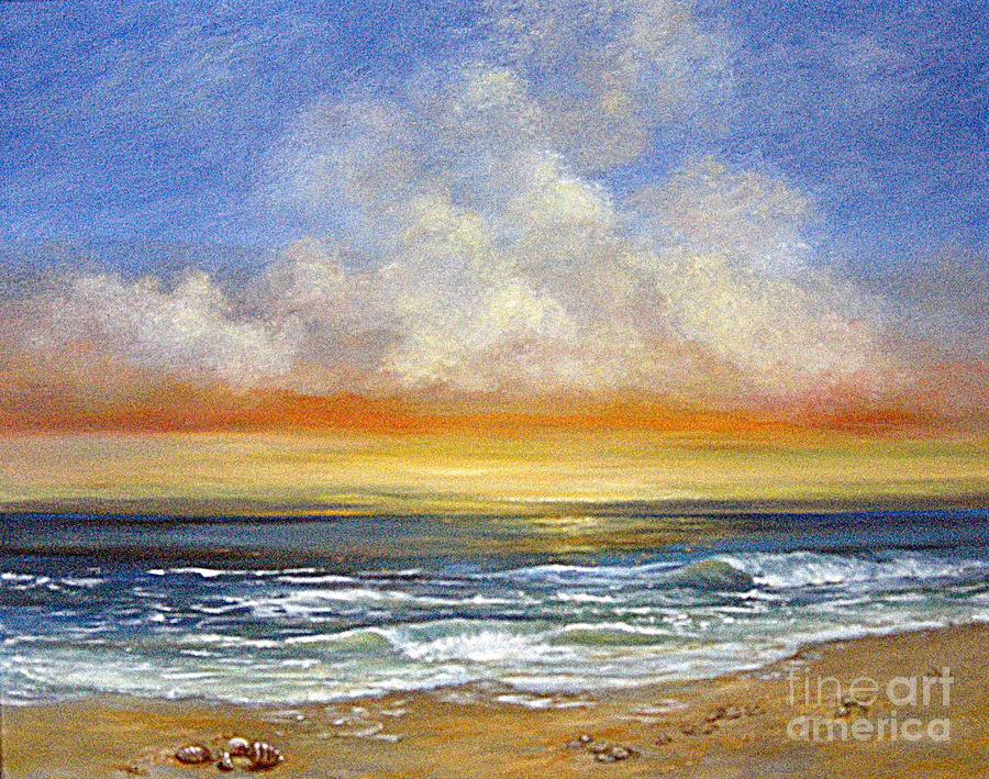 Seascape Painting - A Day To Remember  Sold by Jeannette Ulrich
