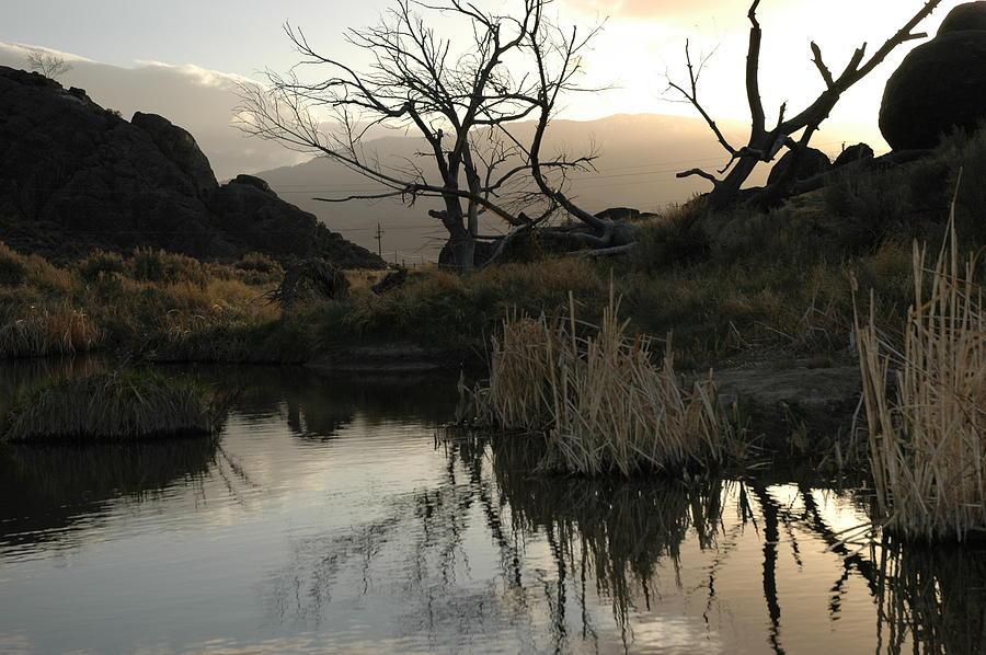 Landscape Photograph - A Days End by Lori Mellen-Pagliaro