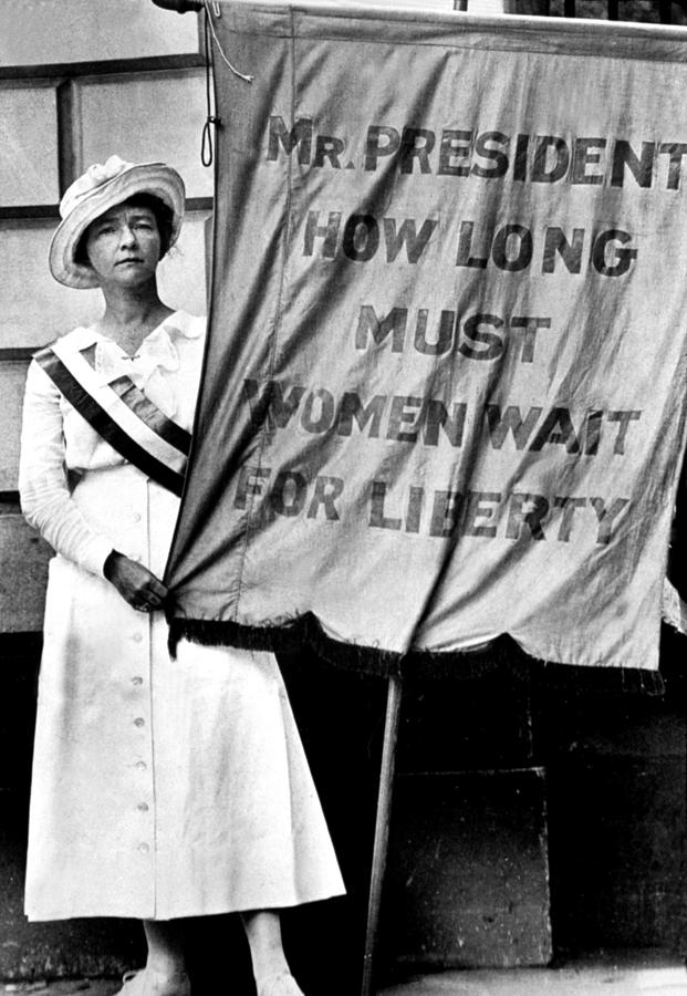 1910s Photograph - A Demonstration For Equal Rights by Everett