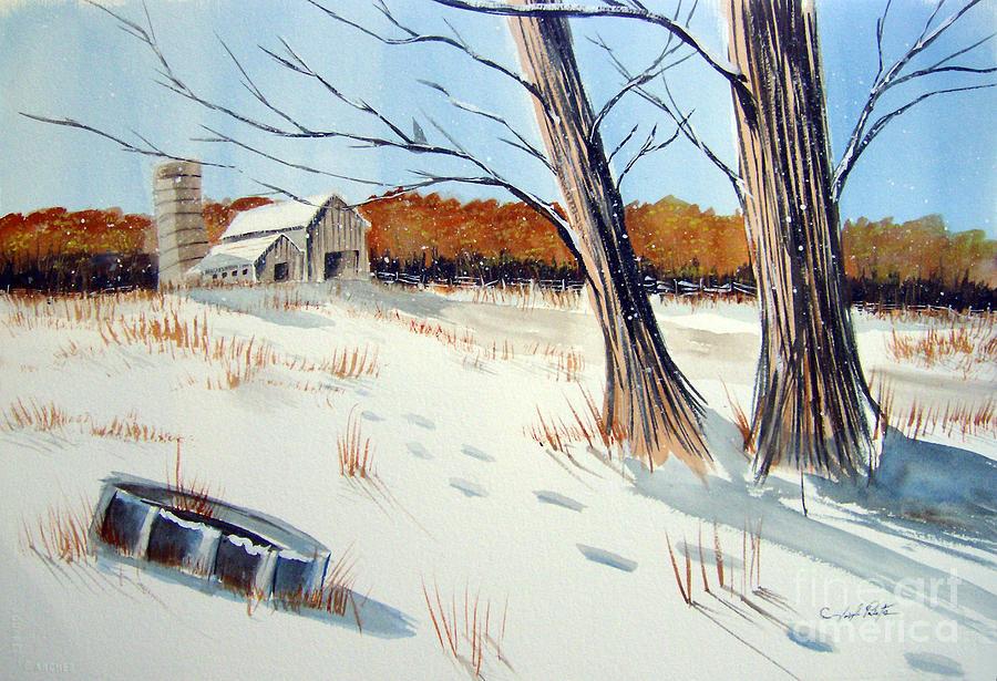 Landscape Painting - A Different Path by Joseph Palotas