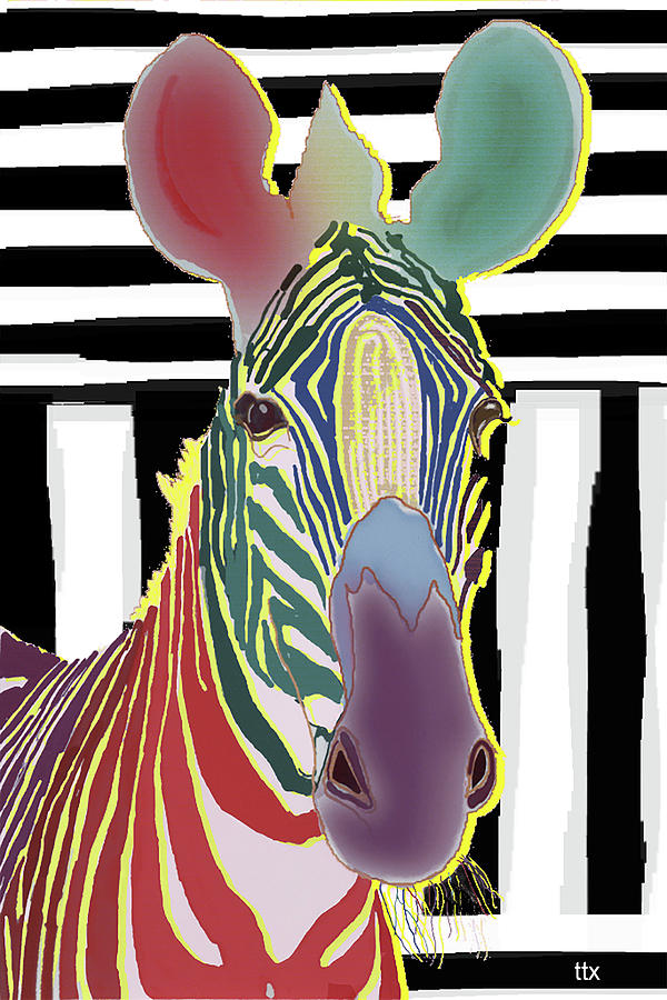 A Different Zebra by Teresa Epps