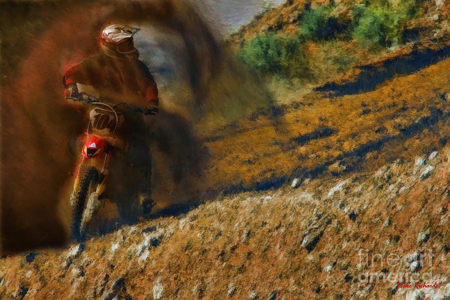 Motocross Photograph - A Dirty Sport by Blake Richards