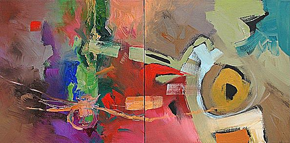 Original Painting - A Distant Memory by Linda Monfort