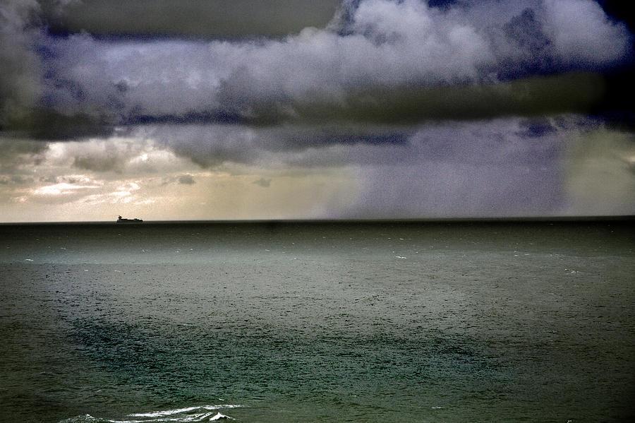 A Distant Rain Photograph