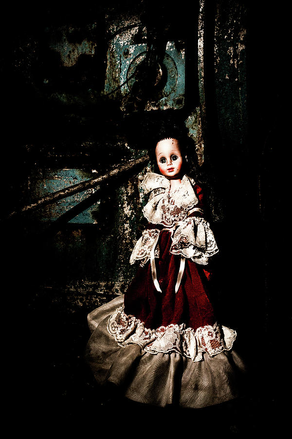 a doll all alone  by Rose Benson