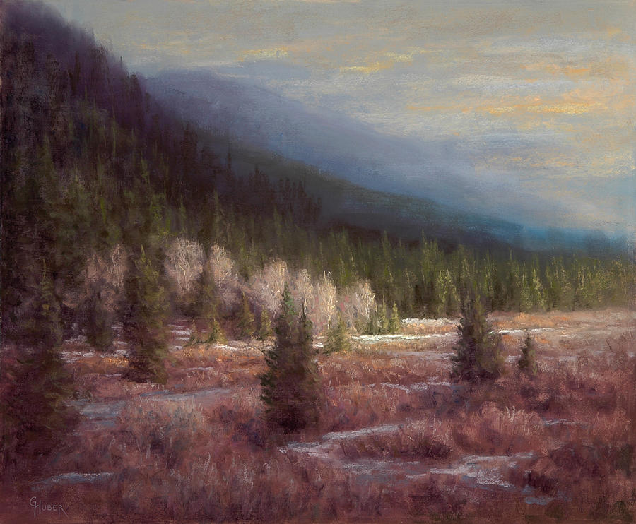 Pastel Painting - A Dramatic Flair by Gary Huber