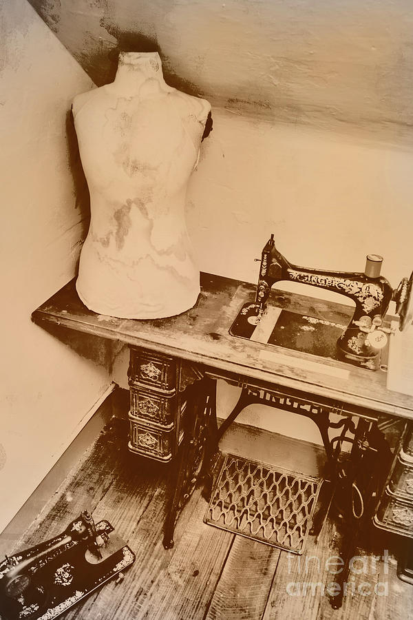 Design Photograph - A Dressmakers Corner by Jorgo Photography - Wall Art Gallery