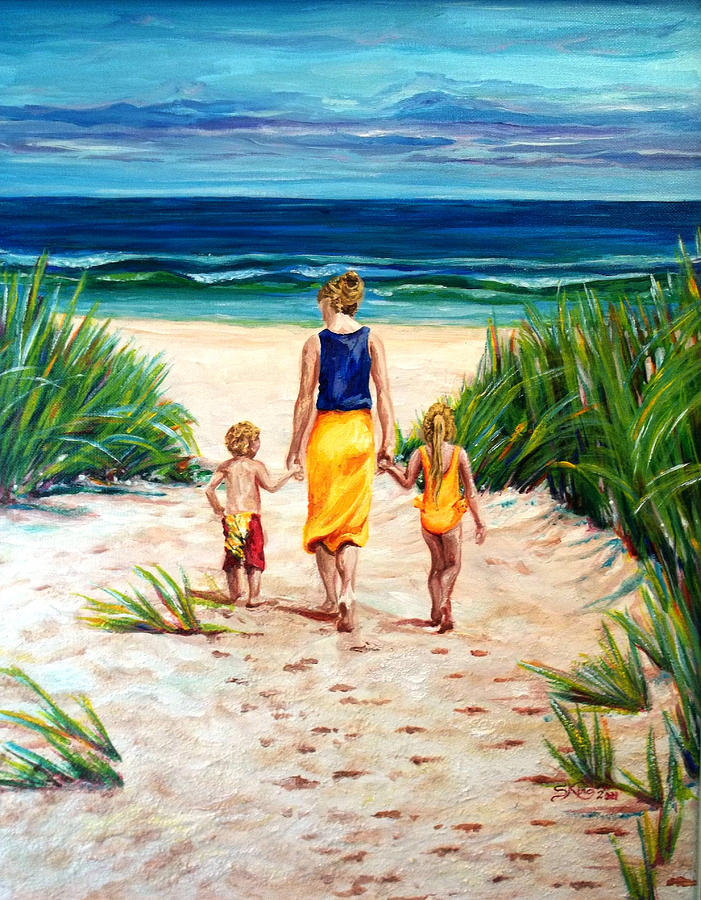 Beach Painting - A Few Of My Favorite Things by Suzanne King