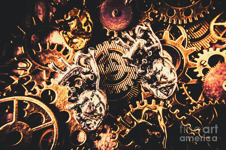 Steampunk Photograph - A Fiction In Machine Love by Jorgo Photography - Wall Art Gallery