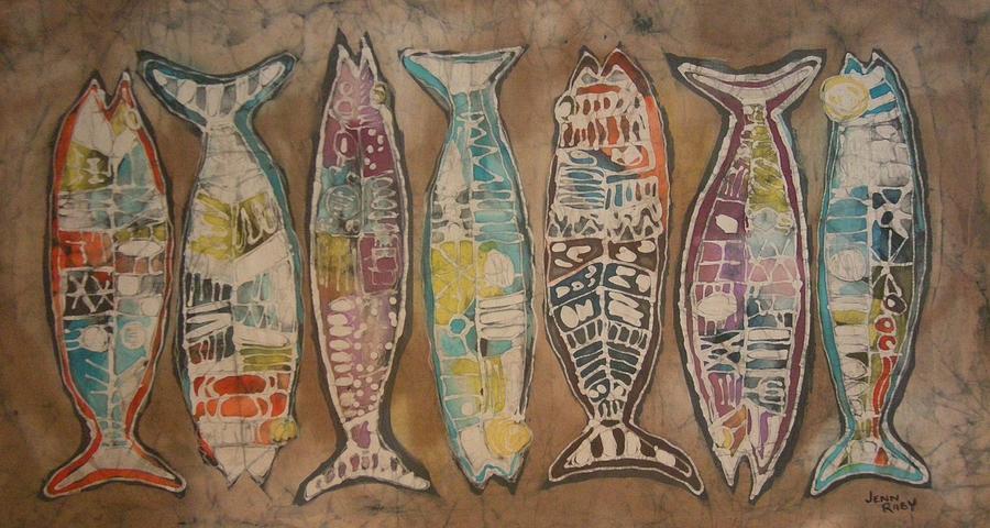 A Fine Catch 001 by Jennifer Raby
