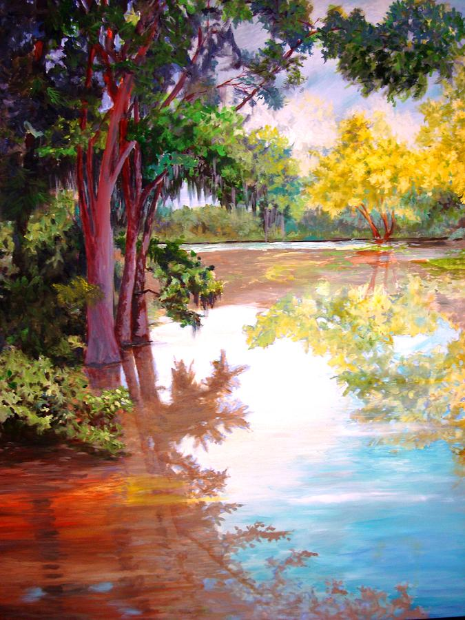 Water Painting - A Fine Day by AnnE Dentler