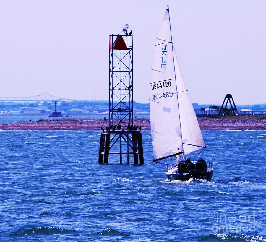 A Fine Day For A Sail Photograph by Marcus Dagan
