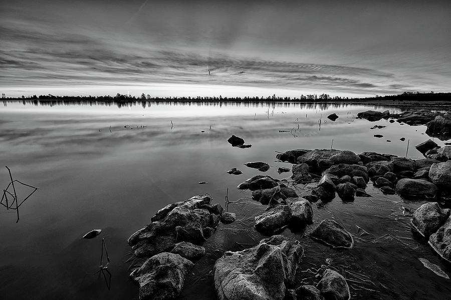 Black And White Photograph - A Flagstaff Beginning by Jon Glaser