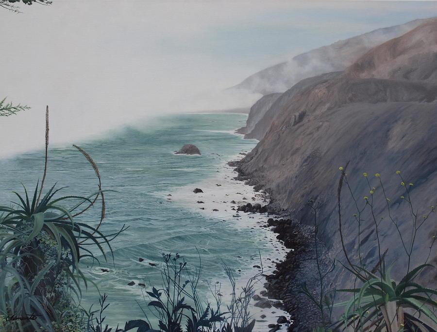 A fog creeps in by Barbara Barber