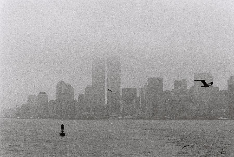Manhattan Photograph - A Foggy Day by Alex Kantor