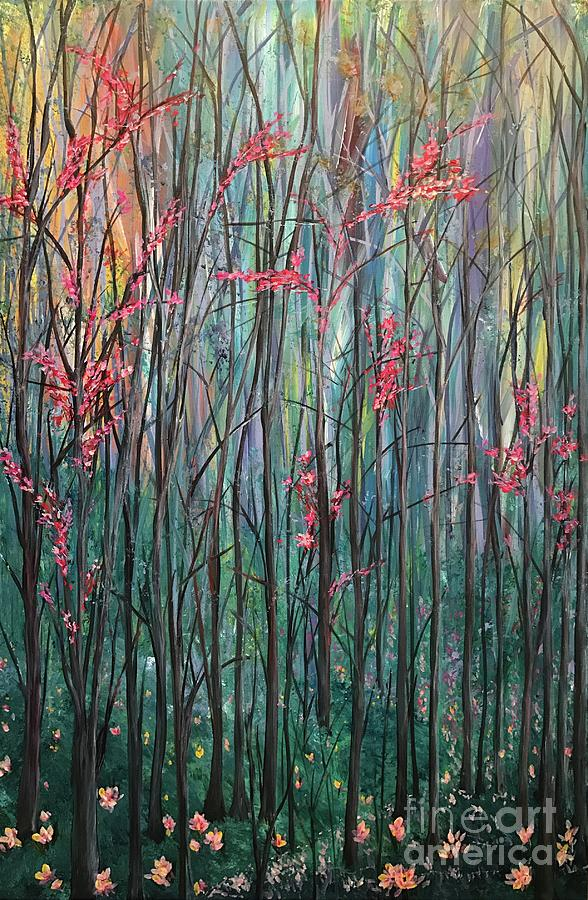Original Painting - A Forest by Heather McKenzie