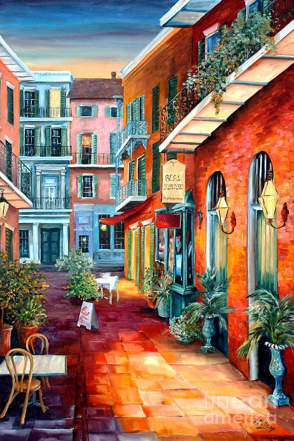 A French Quarter Evening by Diane Millsap
