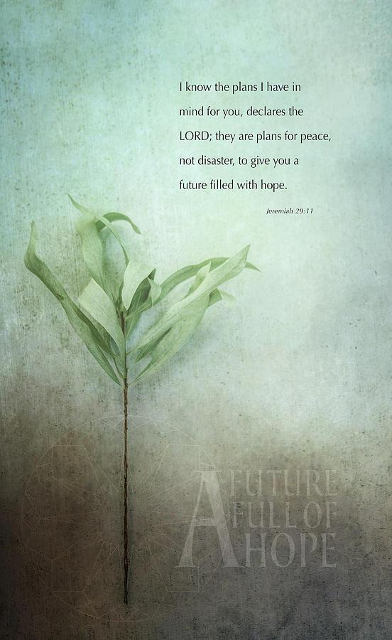 Leaf Digital Art - A Future Full Of Hope by Terry Davis