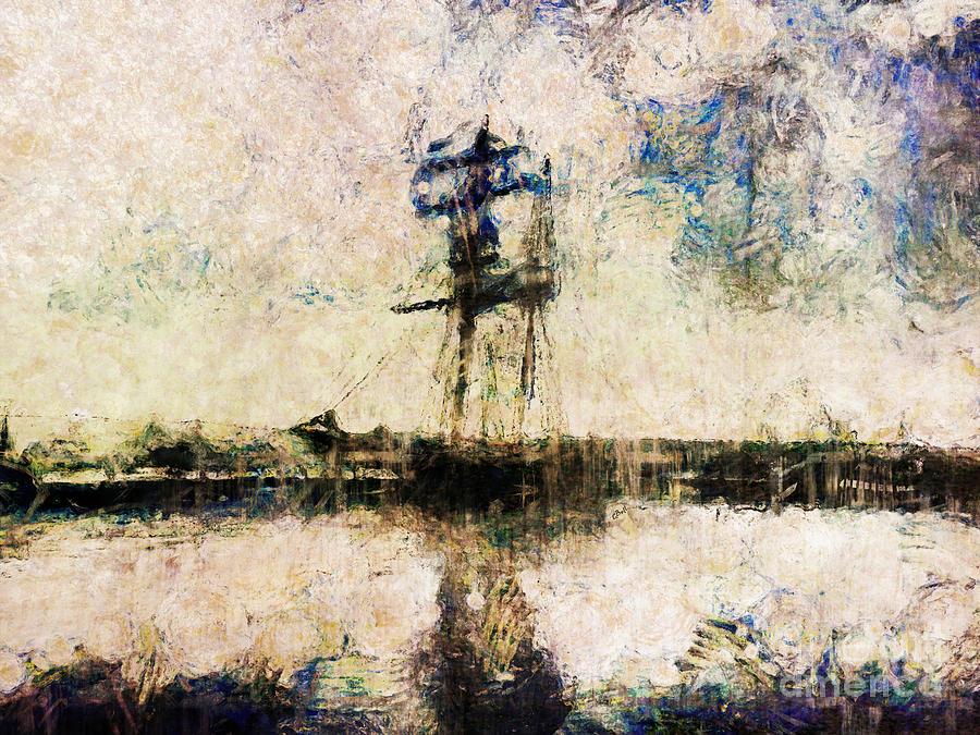 Ship Photograph - A Gallant Ship by Claire Bull