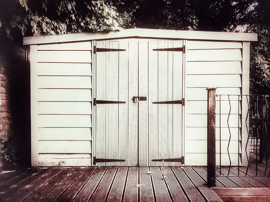Architecture Photograph - A Garden Shed by Tom Gowanlock