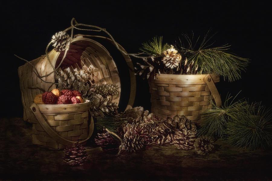 Autumn Photograph - A Gathering of Pine by Tom Mc Nemar