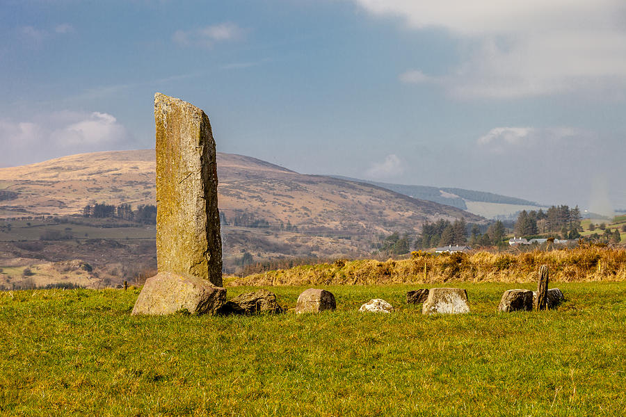 Circle Photograph - A Gathering Of Stone by W Chris Fooshee