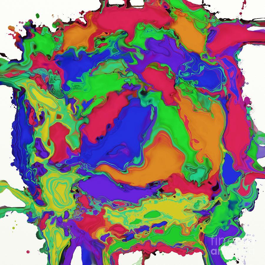 Stirring Digital Art - A Gentle Stir by Keith Mills