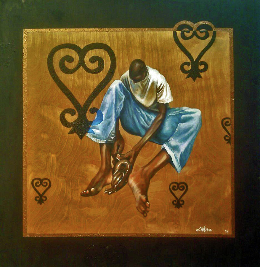 Artist Painting - A gift for reflecting by Jerome White