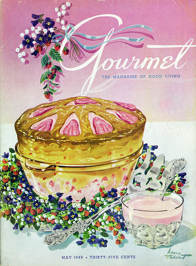 A Gourmet Cover Of A Souffle Photograph by Henry Stahlhut