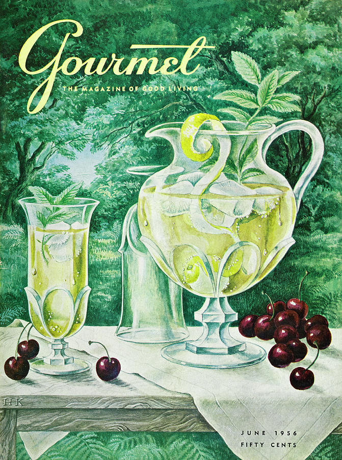 A Gourmet Cover Of Glassware Photograph by Hilary Knight