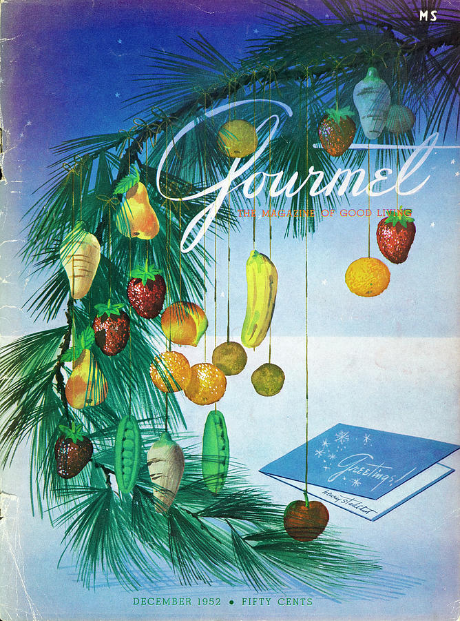 A Gourmet Cover Of Marzipan Fruit Photograph by Henry Stahlhut