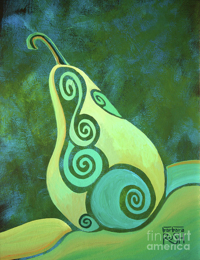 A Groovy Little Pear by Barbara Rush