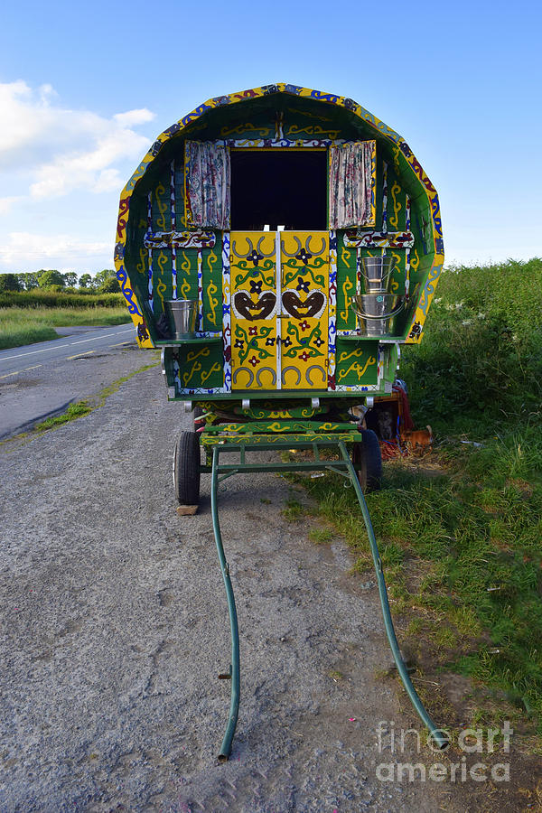 A Gypsy caravan by Joe Cashin