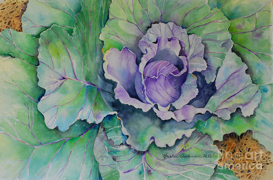 Watercolor Painting Painting - A Head Of The Rest by Kristen Anderson Hill