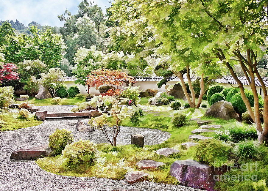 A Japanese Zen Garden Photograph By Gabriele Pomykaj