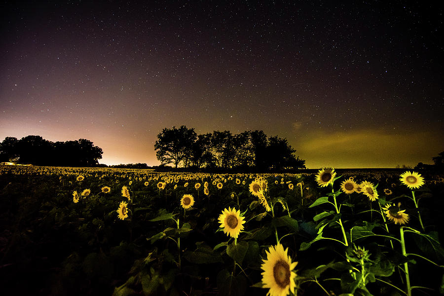 Astronomy Photograph - A Kansas Evening by Colt Coan