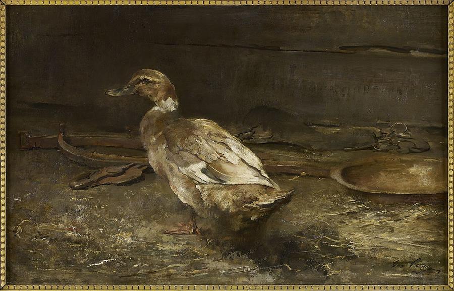 A Khaki Campbell Duck Sir George Pirie