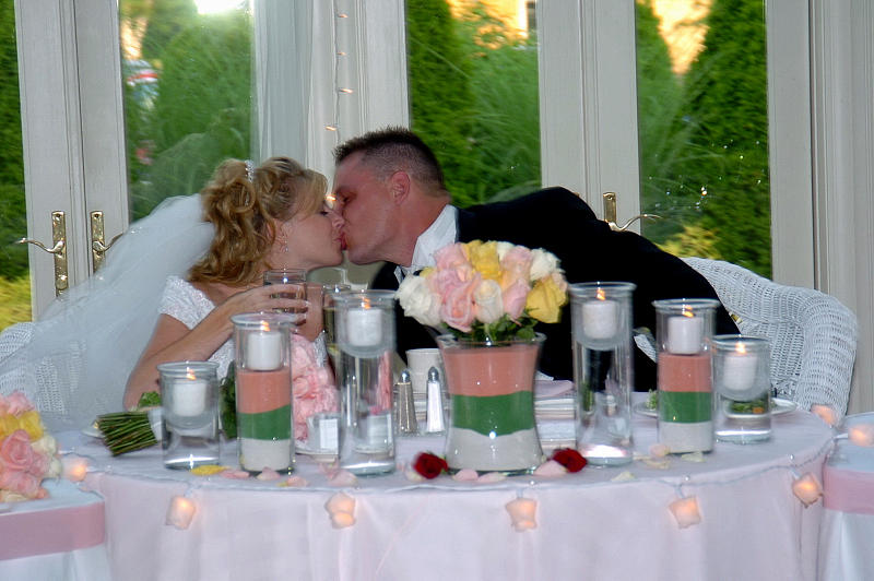 Husband Photograph - A Kiss... by Mary Curtis
