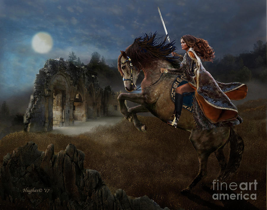A Knight's Lady by Melinda Hughes-Berland