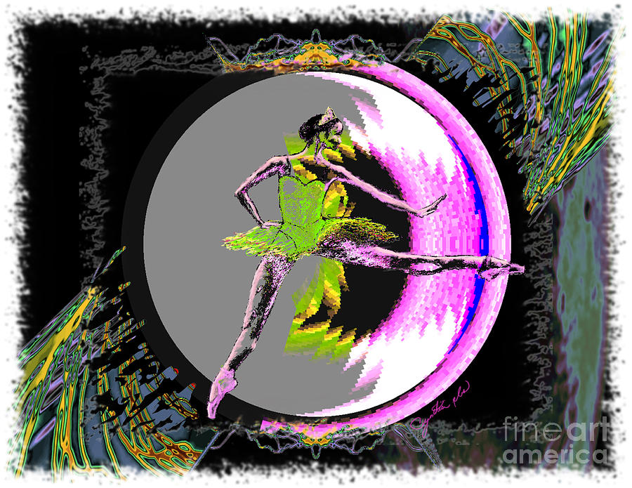 Dance Digital Art - A La Second by Cynthia Sorensen