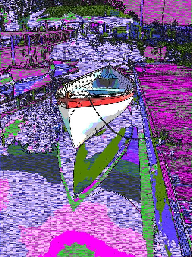 Lake Digital Art - A Lakeside Wonderful by Tim Allen
