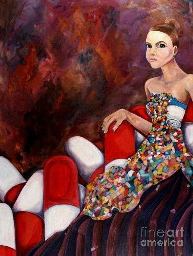 Seduction Painting - A Life Of Seduction by Victoria Dietz