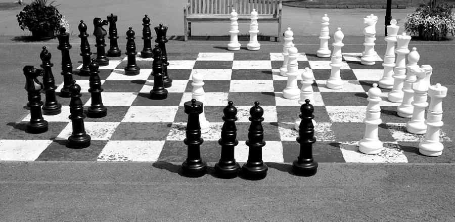 Game Photograph - A Life Time Game Of Chess by Danielle Allard