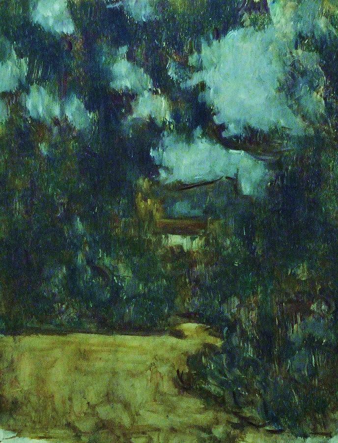 Landscape Painting - A Lombre Du Grand Arbre by Jean pierre  Harixcalde