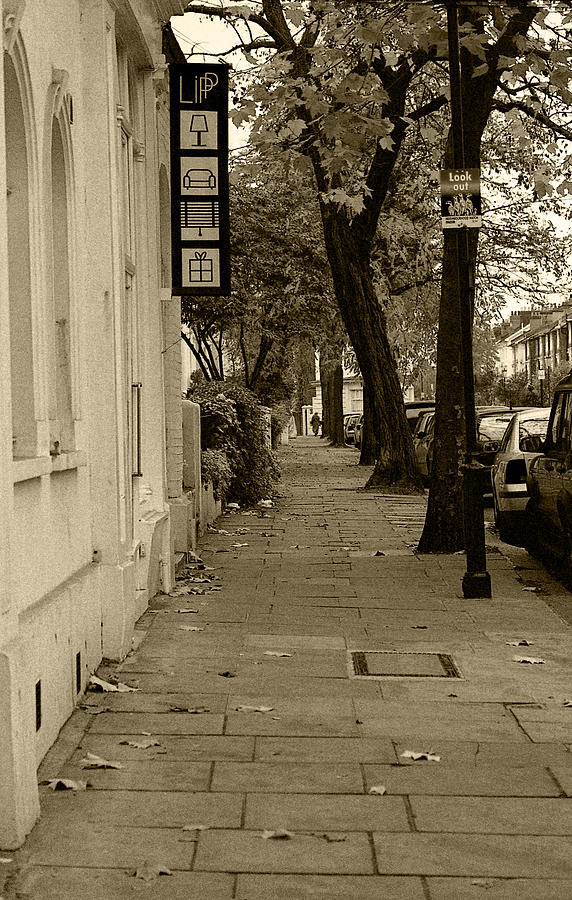 London Photograph - A London Street I by Ayesha  Lakes