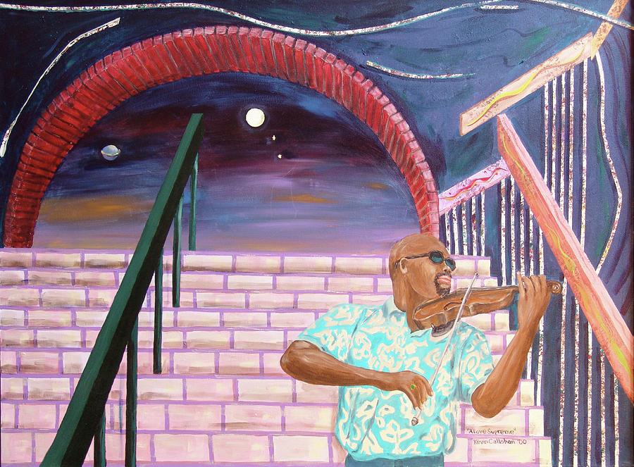 Kevin Callahan Painting - A Love Supreme by Kevin Callahan