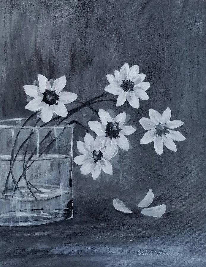 Daisies Painting - A Lovely Bouquet Of Daisies by Sallie Wysocki