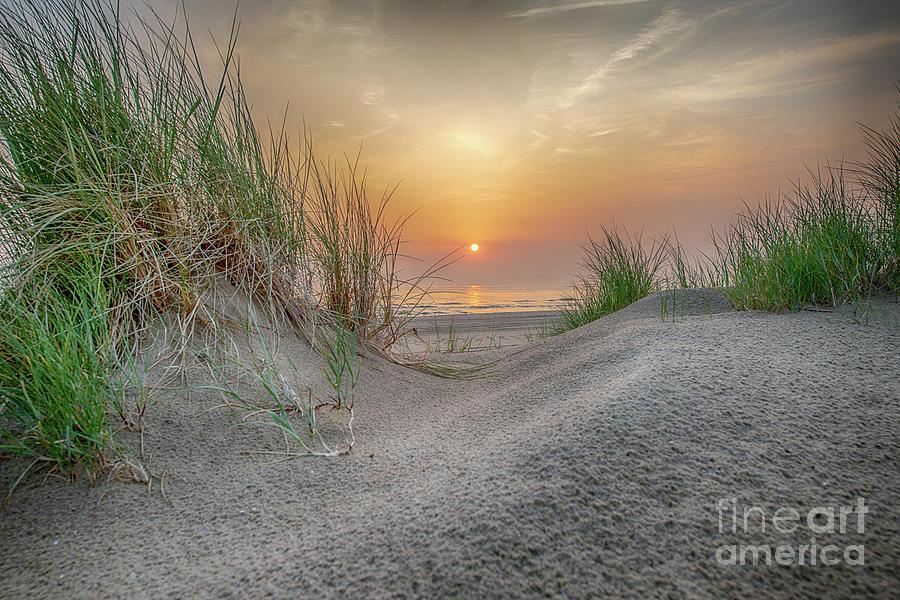 a lovely sunset by Alex Hiemstra