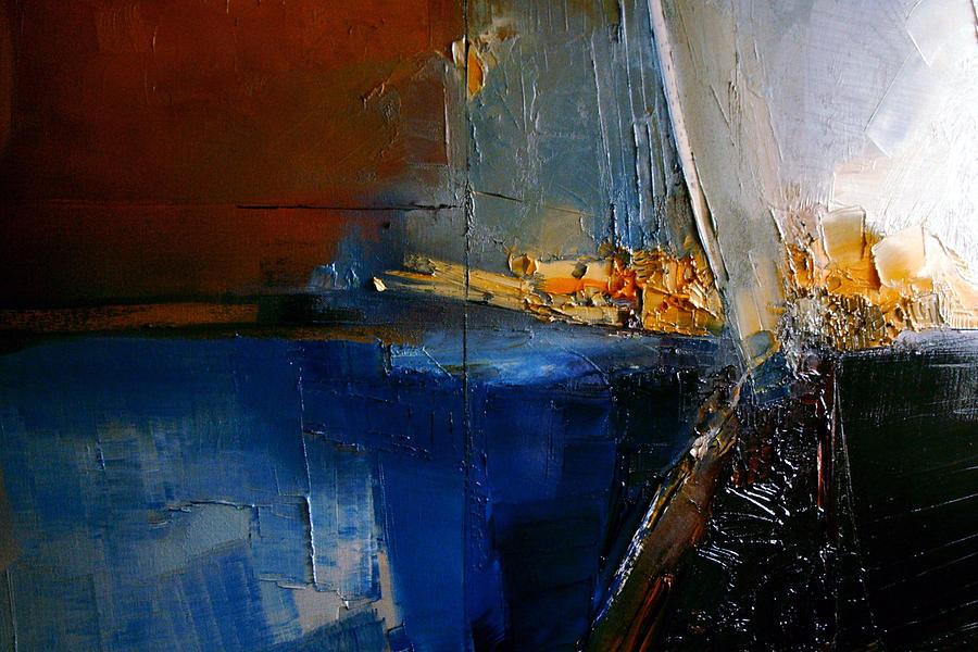 Abstract Painting - A Lucid Memory by Stefan Fiedorowicz