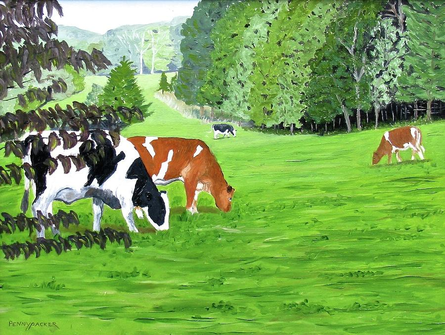 A Lush Summer Pasture by Barb Pennypacker